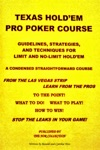 Texas Holdem Pro Poker Course