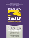 SEIU Local 1000 Master Agreement 2013-2016