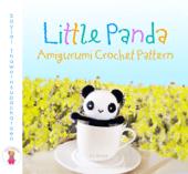 Little Panda Amigurumi Crochet Pattern