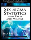 Six Sigma Statistics With EXCEL And MINITAB Chapter 3 - Basic Tools For Data Collection Organization And Description
