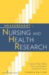 Measurement In Nursing And Health Research Fourth Edition