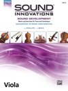 Sound Innovations For String Orchestra Sound Development Advanced For Viola