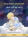 Slaap Lekker Kleine Wolf -      Tweetalig Kinderboek Nederlands - Arabisch