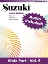 Suzuki Viola School - Volume 6 Revised