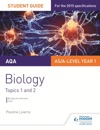 AQA ASA Level Year 1 Biology Student Guide Topics 1 And 2