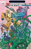 Tom Scioli - Transformers vs G.I. Joe #0  artwork