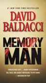 Memory Man - David Baldacci Cover Art