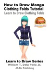 How To Draw Manga Clothing Folds Tutorial Learn To Draw Clothing Folds