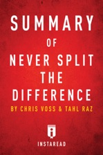 Summary of Never Split the Difference by Instaread on iBooks