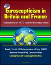 Euroscepticism In Britain And France Implications For NATO And The European Union - Brexit Frexit UK Independence Party UKIP National Front FN Conservatives Comparison Of Eurosceptic Parties