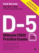 Koo Won, Park Jae-hyung & Mark Kim - Crack the Exam! D-5 Ultimate TOEIC Practice Exams (Five full-length exams reflecting the newly revised TOEIC) artwork