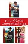 Harlequin Desire January 2017 - Box Set 2 Of 2