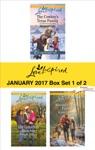 Harlequin Love Inspired January 2017-Box Set 1 Of 2