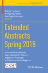 Extended Abstracts Spring 2015