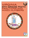 Virginia 4th Grade Math - Fractions And Mixed Numbers