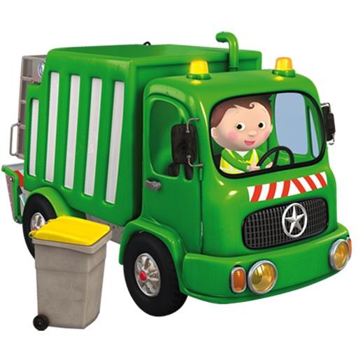 P'tit Garçon - le camion-poubelle de Marcel