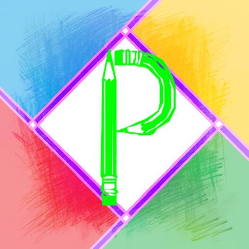 拼图与p图–简单的图片美图图像photo处理软件