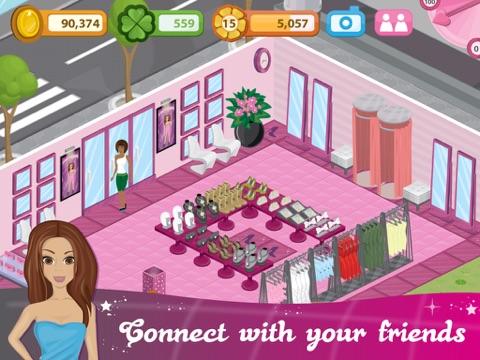 Screenshots of Fashion City - World of Fashion for iPad
