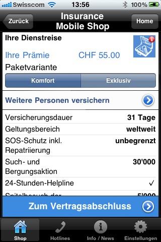 Insurance Mobile Shop screenshot 4