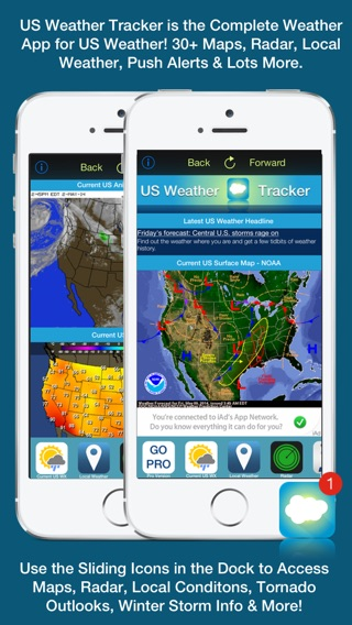 US Weather Tracker Free Weather Maps Radar Severe Tornado - Us weather alerts map