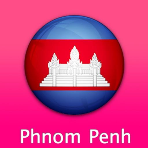 金边自由行地图 (柬埔寨)