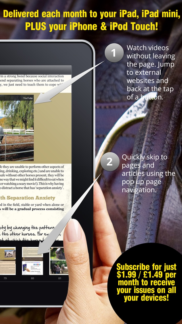 Saddle And Stirrups Magazine review screenshots
