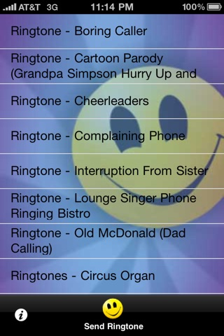 FREE Ringtones 1 screenshot 2