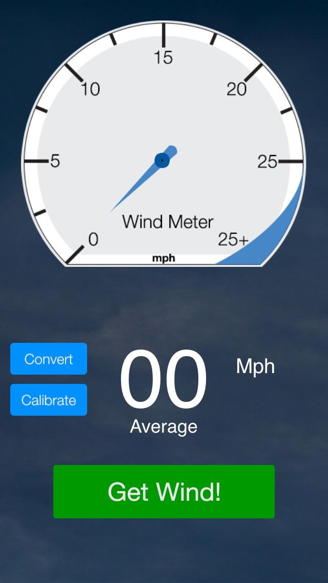 Wind Meter Screenshot 1