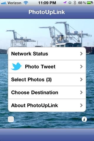 PhotoUpLink screenshot 1