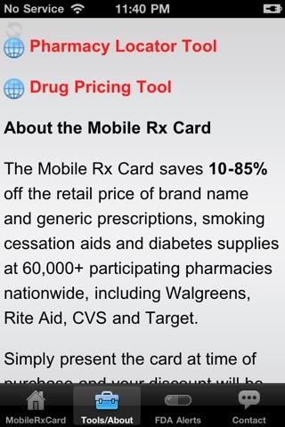Mobile Rx Card - Prescription DiscountsScreenshot of 2
