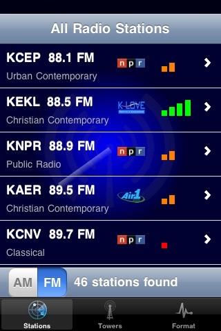 Radio Radar screenshot 1