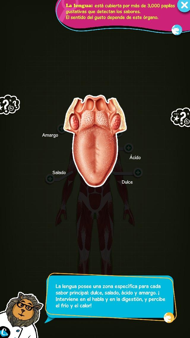 download El cuerpo humano enseñado por Tom apps 4