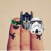 Dedos Hero - Pon máscaras del héroe a través de tus dedos!