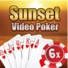 Тузы Делюкс Видео Покер-клуб в Sunset Strip Казино — 6 Бесплатный Лаки Бонусная карта азартных игр