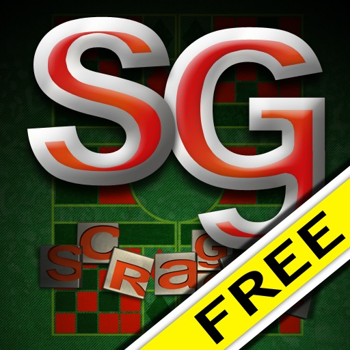 Scraggle - A funny word game for your friends and family party iOS App
