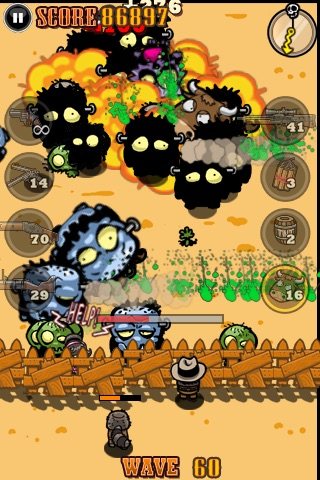 Cowboy vs. Zombies screenshot 1