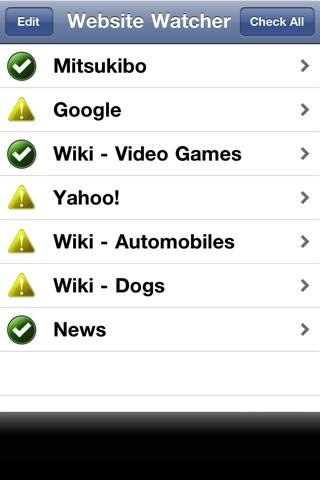 Wiki & Website Watcher screenshot 1