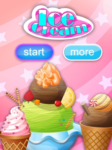 Ice Cream Now HD-Cooking game screenshot 1