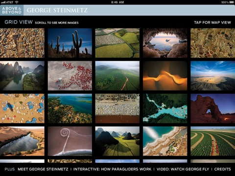 Above & Beyond: George Steinmetz screenshot 2