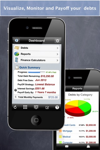 Debt Free - Pay Off your Debt screenshot 1