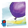 Where Do Balloons Go? An Uplifting Mystery : a creativity-enhancing kid's book by Jamie Lee Curtis (by Auryn Apps)