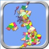 United Kingdom Puzzle Map