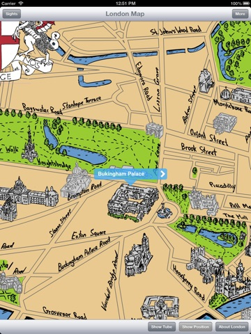 London Map Guide For IPad Free On The App Store - London map guide