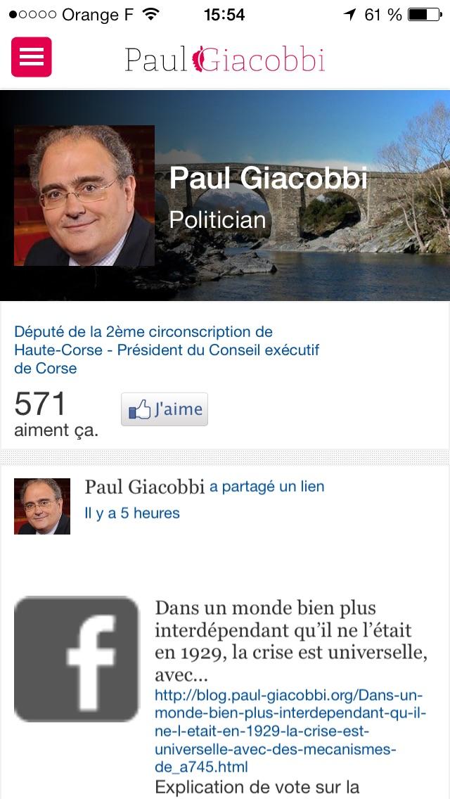 Le blog de Paul GiacobbiCapture d'écran de 5