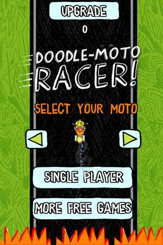 Doodle Moto Racer Free screenshot 2