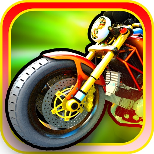 Motorcycle Racing HD Free - A fast speed highway police dodge iOS App
