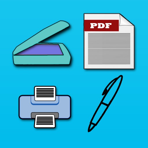 Scanner Professional - (Document writer ,Multipage PDF Scanner , PDF Merger , Photo Editor , map to PDF converter and document Reader for your iPhone and iPad) iOS App