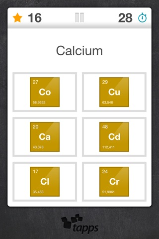Elements periodic table element quiz on the app store iphone screenshot 2 urtaz Images