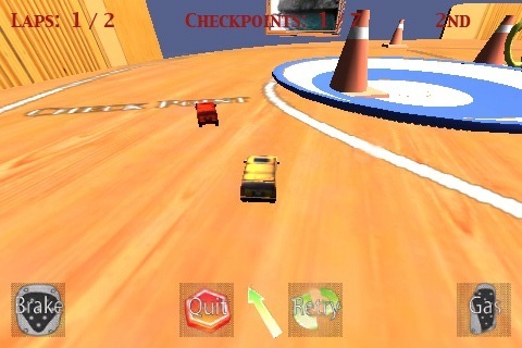 MicroKart screenshot 1