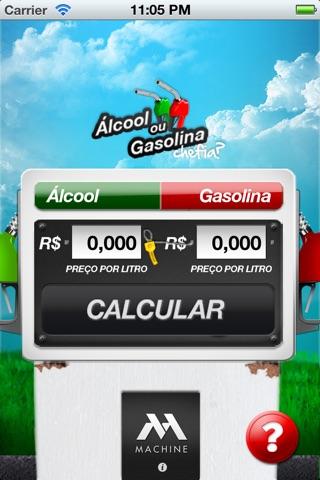 Alcool ou Gasolina, Chefia? screenshot 1